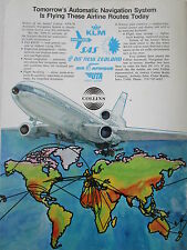 8/1973 PUB COLLINS AUTOMATIC NAVIGATION SYSTEM DC-10 AIRLINER UTA AIR AFRIQUE AD