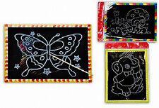 10 ième Set Images à gratter Din A4 Cadeau Bienvenue Anniversaire Tombola