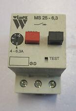 Salvamotore modulare serie MS 25 4-6,3A