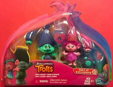 DREAMWORKS TOLLS EXCLUSIVE CORONATION TRUE COLORS SET, POPPY & BRANCH -NEW !