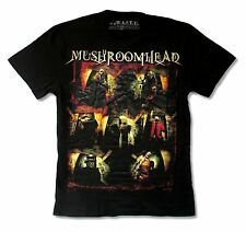"MUSHROOMHEAD ""09 BAND PHOTO SMALL BACK IMAGE"" BLACK T-SHIRT NEW OFFICIAL SMALL"