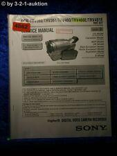 Sony Service Manual DCR TRV360 TRV361 TRV460 TRV460E TRV461E Level 2 (#4862)