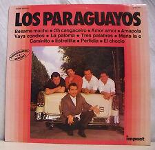 """33 tours LOS PARAGUAYOS Disque Vinyl LP 12"""" BESAME MUCHO - IMPACT 6886 360"""