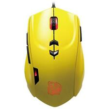 THERMALTAKE Theron Gaming USB Mouse Giallo TT Esports 5600 DPI - 7 colori LED