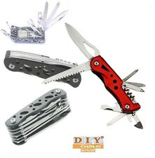DIYcrafts®LED Torch Multi-Function Army Knife Saw Tool Travel Camping Emergencyq