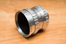 Som Berthiot Cinor 16mm f/2.8 Cinema lens C Mount Relubed/buffed BMPCC Bolex