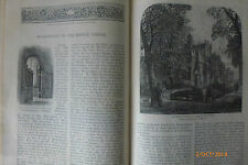 Shakespeare Middle Temple Hall Rare Antique Victorian Illustrated Article 1884