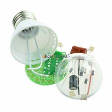 New Energy-Saving 38 LEDs Green Lamps DIY Kits Electronic Suite 1 Set