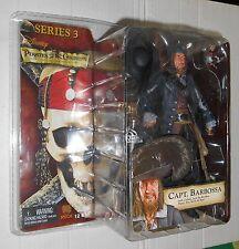NECA Pirates of the Caribbean Series 3 Capt. Barbossa figure NEW