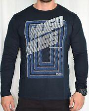 New Hugo Boss Men`s T-shirt Long Sleeve Size:4XL SALE