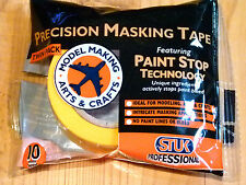 Stuk Professional Precision Masking Tape x2 For Models/Hobbies (10mm wide)