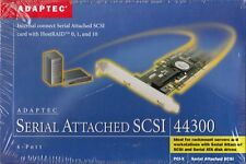 ADAPTEC ASC-44300 2220300-R PCI-X SAS RAID CONTROLLER BARE CARD - NEW!