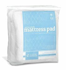 Extra Plush Mattress Pad Topper Fitted Skirt Found in Marriott Hotels, RV Bunk