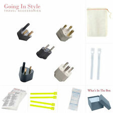 India Complete Adapter South Asia Kit | Going In Style Adapters & Converters