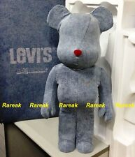 Medicom Be@rbrick 2015 Levis 1000% Levi's (R) Wash Denim Flocked Bearbrick 1pc