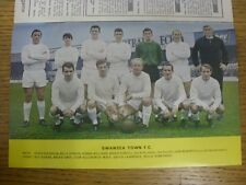 1967/1968 Football League Review: Vol 2 No 32 - Colour Picture - Swansea City [O
