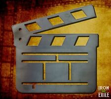 Movie Clapper Board Metal Wall Art Decor Vintage Theater Room Sign Vacation Home