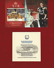 Australia 2013 MS SG Ms 3971 Gold Overprint APTA Dinner & River Cruise