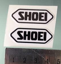 Visera Stickers / Calcomanías Para Cascos Shoei (par) (4 X 1,5 Cm)