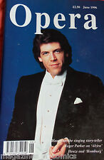 OPERA MAGAZINE,JUNE 1996, HAMPSON THE SINGING STORY TELLER, ROGER PARKER