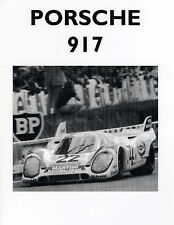 Porsche 917 and Its Racing Record, Colin Pitt, Good, Paperback