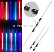 2 PCS Star Wars Lightsaber Led Flashing Light Saber Sword Toys Cosplay Weapons
