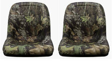JOHN DEERE GATOR PAIR (2) CAMO SEATS FITS: E-GATOR , TH 6X4, TE, TRAIL SERIES