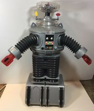 "Lost In Space 1998 Trendmaster B9 Robot 24"" Tall NO REMOTE UNTESTED AS IS"