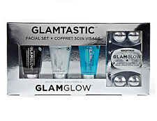GLAMGLOW GLAMTASTIC FACIAL SET YOUTHMUD SUPERMUD THIRSTYMUD BRIGHTMUD MASK GIFT