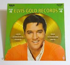 "ELVIS PRESLEY 12"" Sealed Record Album ELVIS' GOLD RECORDS Volume 4 RCA LSP-3921"