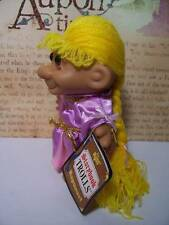 "RAPUNZEL - 5"" Russ Storybook Troll Doll - NEW IN ORIGINAL WRAPPER"
