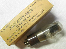 One Hytron JAN-CHY-1626  VT-137 tube - New Old Stock / New In Box