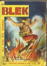 Gli albi del GRANDE BLEK n° 125 (Dardo, 1965) - libretto