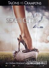 SEX AND THE CITY 2 - SOCCER / FOOTBALL / HIGH HEEL - RARE ADVANCE MOVIE POSTER