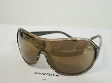 Valentino 5438 Marrone Brown Glitter occhiali sole Sunglasses New Original