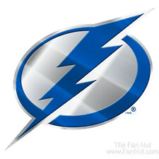 Tampa Bay Lightning Raised 3D COLOR Metal Auto Emblem Home Decal NHL Hockey