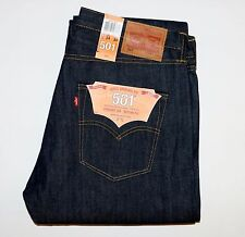 New Levi's Made In the USA 501 Shrink-to-Fit Selvedge Jeans W34 L34 Cone Mills