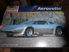 REVELL AEROVETTE CORVETTE 1/25 Model Car Mountain KIT OPEN