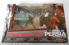 PRINCE DASTAN WITH AKSH toy figures by McFarlane - Sands of Time - NEW