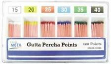 META GUTTA PERCHA POINTS #35 ISO SIZED VIAL BOX OF 120 DENTAL
