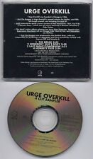 URGE OVERKILL 4 Cut Sampler 1995 US promo only CD Exit The Dragon