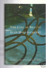 THE THE LINE OF BEAUTY - GREAT AUTHOR ALAN HOLLINGHURST SIGNED 1ST HB