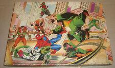 UOMO RAGNO SET TIMBRI MULTI PRINT ANNI '70 - SPIDER-MAN STAMPS (SPIDERMAN)