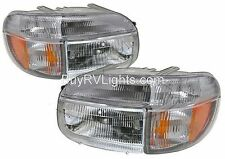 HOLIDAY RAMBLER ENDEAVOR 2000 2001 HEADLIGHTS SIGNAL HEAD LIGHTS FRONT LAMP SET