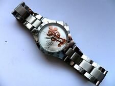Stunning One and Only Gold Mickey Mouse Adult Stainless Steel Watch