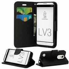 For LG LV3 MS210 / Aristo / K8 2017 Leather Wallet Flip Card Slots Case Cover