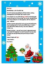 Santa - Father Christmas Letter - Personalised - Xmas - North Pole Stamped