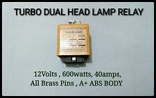 DUAL HEAD LAMP RELAY 12V. 600Watts HEAVY DUTY. For 90/100W,100/130W H-4 Bulbs