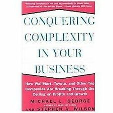 NEW Conquering Complexity in Your Business: How Wal-Mart, Toyota, and Other Top