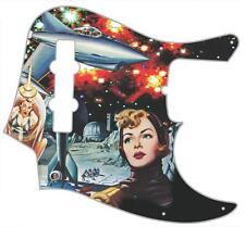 J Bass Pickguard Custom Fender Graphic Graphical Guitar Pick Guard Luna Mayhem